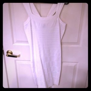 White Express Bodycon dress